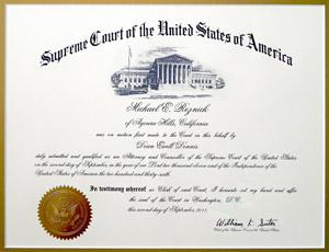 Michael Reznick Supreme Court